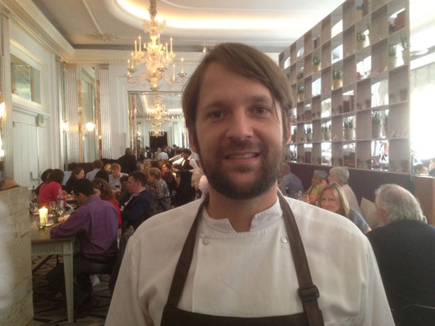 Rene Redzepi at Claridges on Saturday