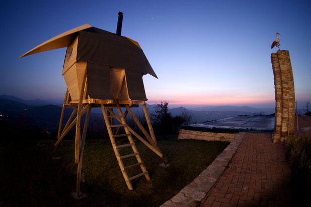 Norse Mythology Inspires Zero Energy Sauna Architecture