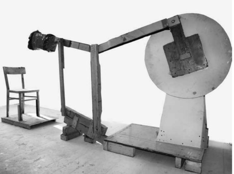 Nose Punch Machine (2007) by Szymon Kobylarz