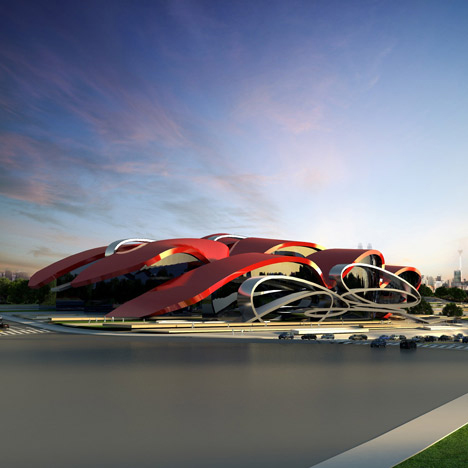 Oasis Exhibition Centre, Longquan Chengdu, China - Marques And Jordy