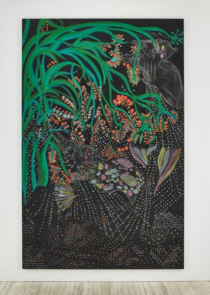 Midnight Cocktail (2015) by Chris Offili. Image courtesy of David Zwirner