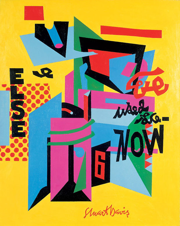 stuart davis proto pop artist or modernist master art