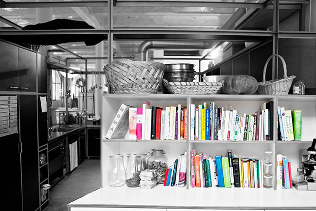 Can you spot Noma on Olafur Eliasson's shelfie?