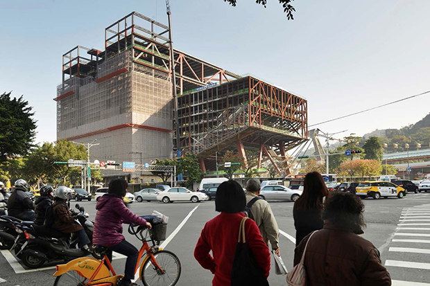 Exclusive images of the Performing Arts Theater, Taipei. Photograph by Chris Stowers. Image courtesy of OMA