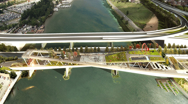OMA reinvents the bridge (again)