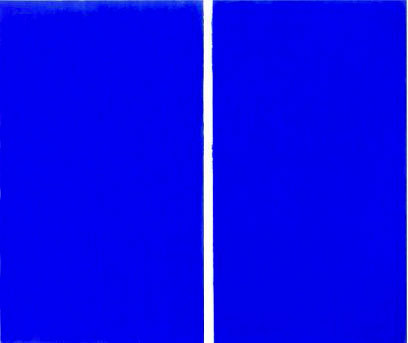 Why did Barnett Newman destroy his old art?