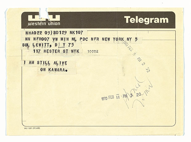 The Guggenheim's Jeffrey Weiss talks On Kawara