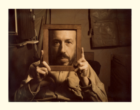 Richard Hamilton by Man Ray Polaroid Portraits, vol.1-4 1968 - 2001 Private Collection © The estate of Richard Hamilton.