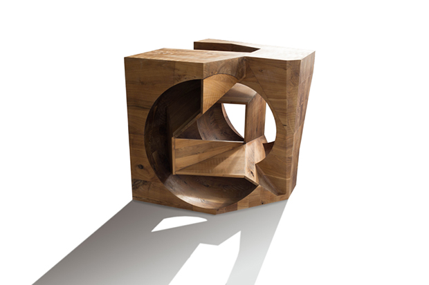 Steven Holl Architect's Ex of In XII; its submission for Unpacking the Cube. Image courtesy of Steven Holl Architects