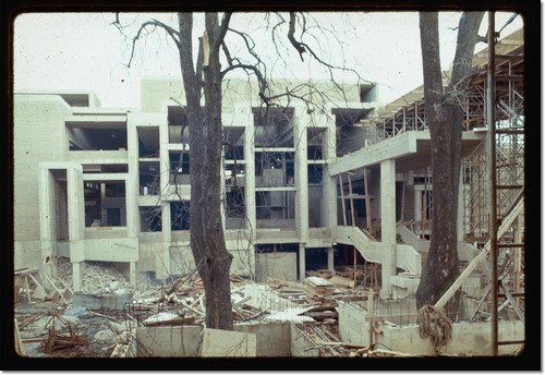 Orange County Government Center constuction - Paul Rudolph