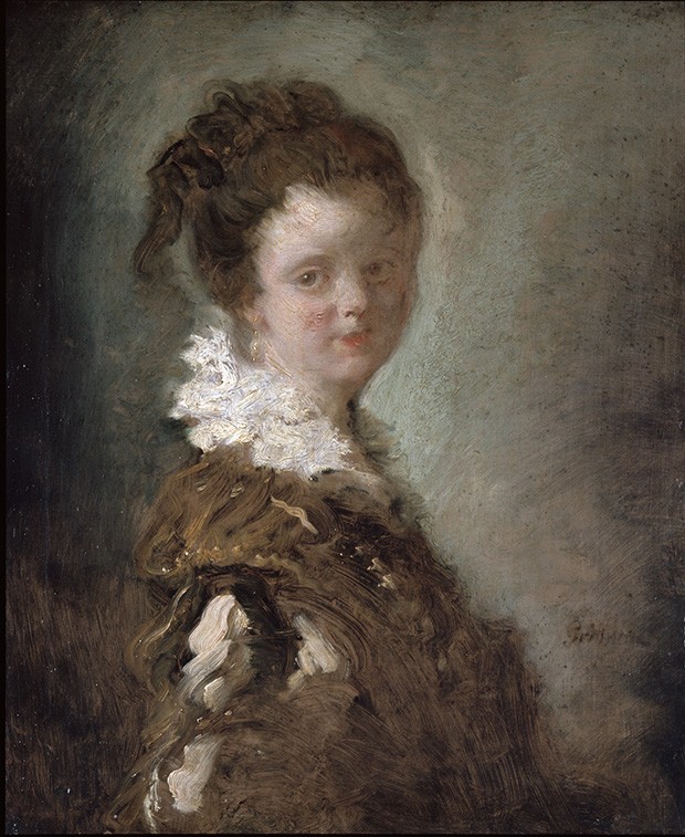 Portrait of a Young Woman (c. 1769) b Jean-Honoré Fragonard