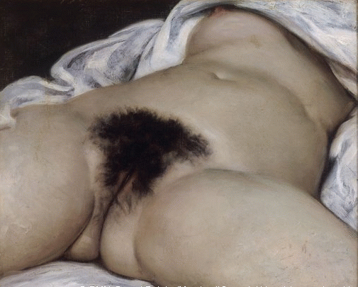 The Origin of The World (1866) by Gustave Courbet. © RMN-Grand Palais (Musée d'Orsay)