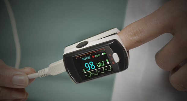 Monotype Spark suits small devices, such as an oxygen monitor