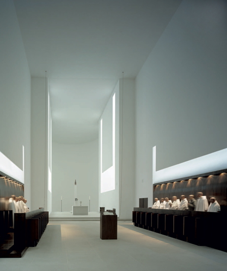 John Pawson, Monastery of Our Lady of Nový Dvu˚r, Bohemia