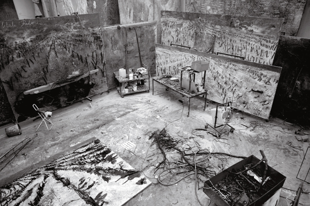 Inside Anselm Kiefer's studio at La Ribaute, Barjac, France