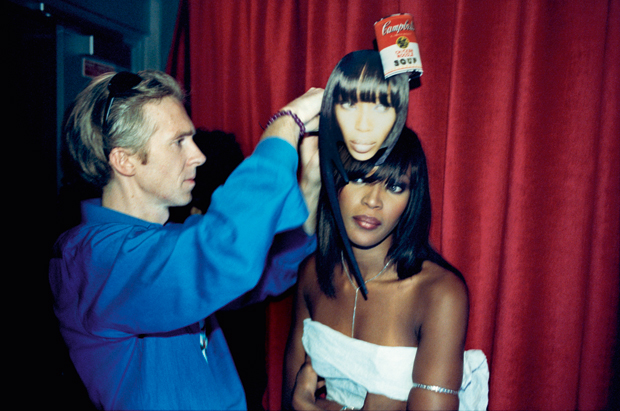Philip and Naomi Campbell, Paris fashion week 2003 - Kevin Davies