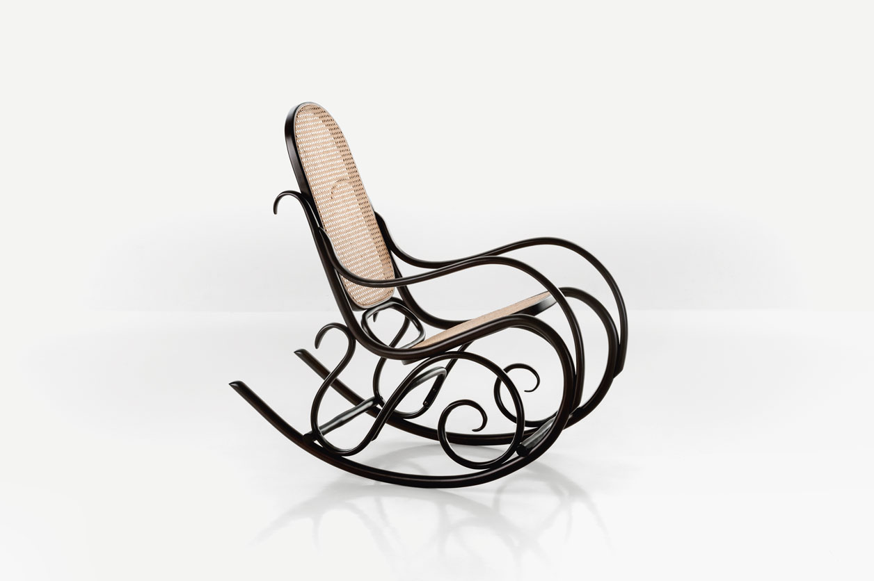 Rocking Chair, Model No.1 c.1860 by Michael Thonet featured in Chair 500 Designs That Matter