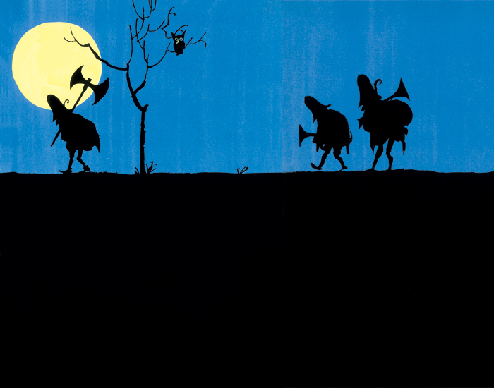Tomi Ungerer, The Three Robbers