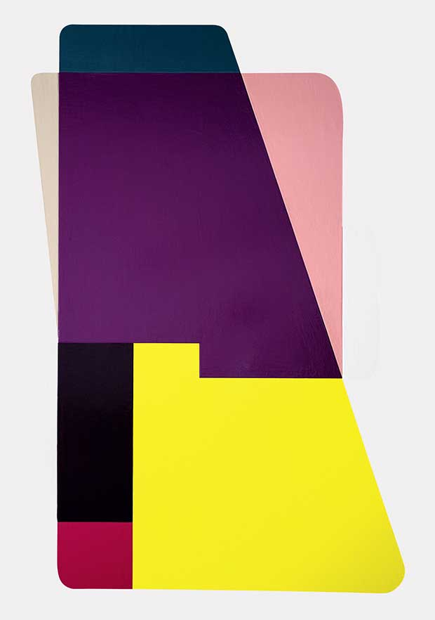 Untitled (2008) enamel on aluminium - Ruth Root from Painting Abstraction