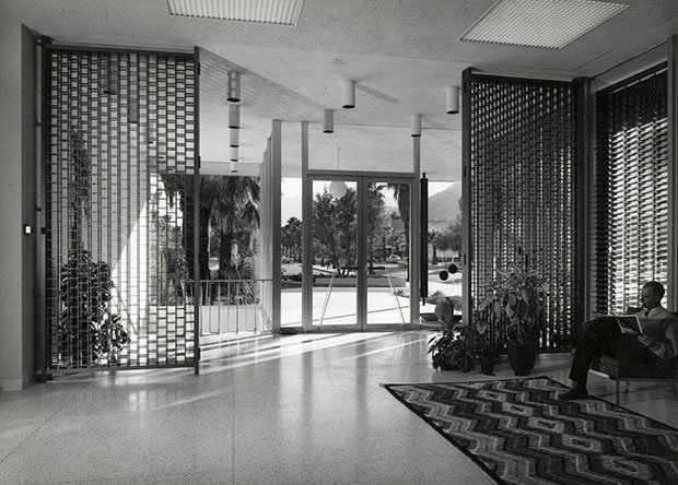 Santa Fe Federal Savings & Loan 1960 - E. Stewart Williams - photo Julius Shulman