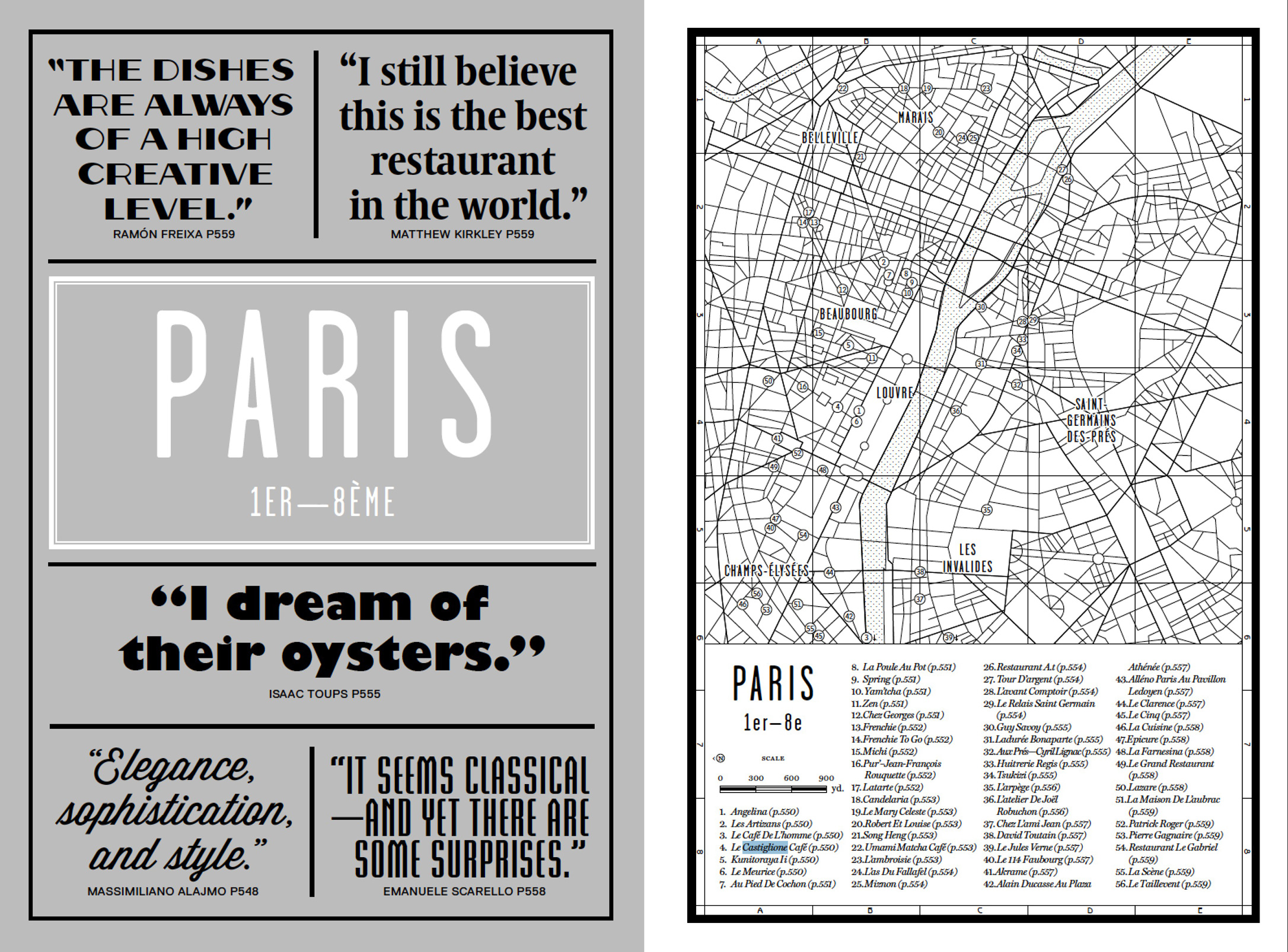 The Paris introduction from our new book Where Chefs Eat