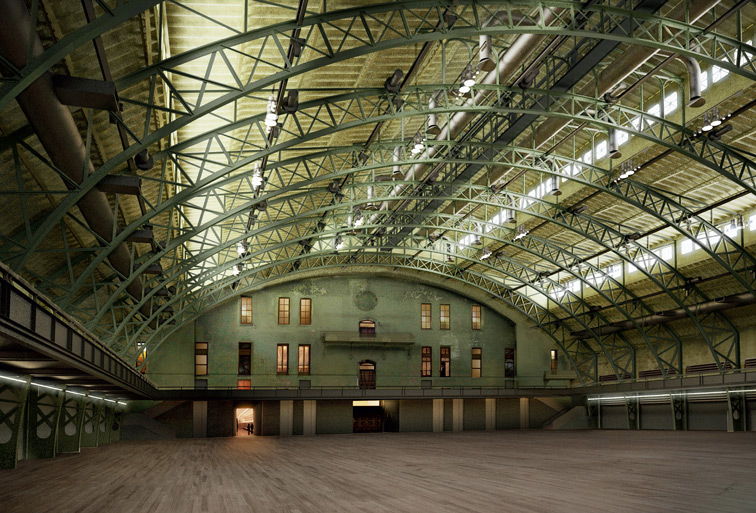 The Park Avenue Armory's Drill Hall