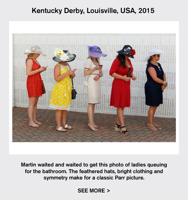 Kentucky Derby, Louisville, USA, 2015 by Martin Parr. One of the photographer's Collector's Edition prints