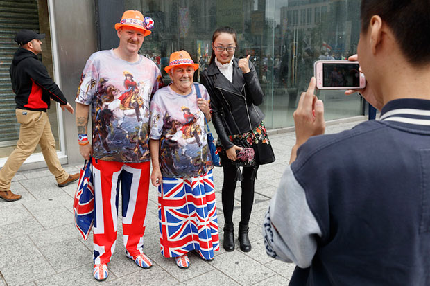 Martin Parr turns his lens on Belfast
