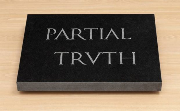 Partial Truth (1997) by Bruce Nauman