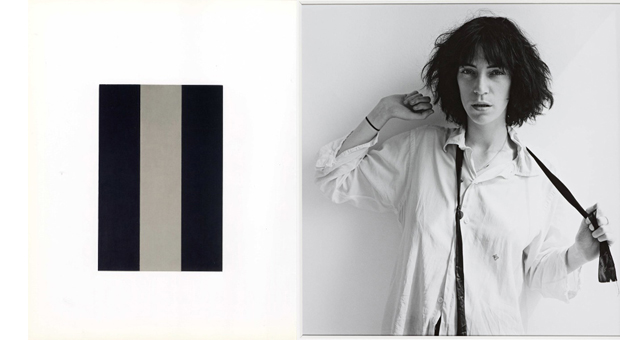 Star (for Patti Smith) 1972-4 - Brice Marden; Patti Smith herself in 1975