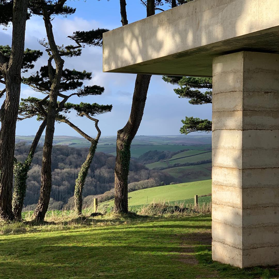 Peter Zumthor's Secular Retreat, photographed by John Pawson. All images courtesy of John Pawson's Instagram