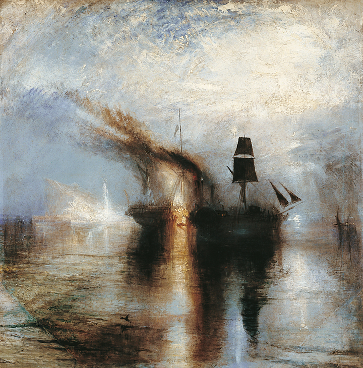 Peace - Burial at Sea (1842) by JMW Turner