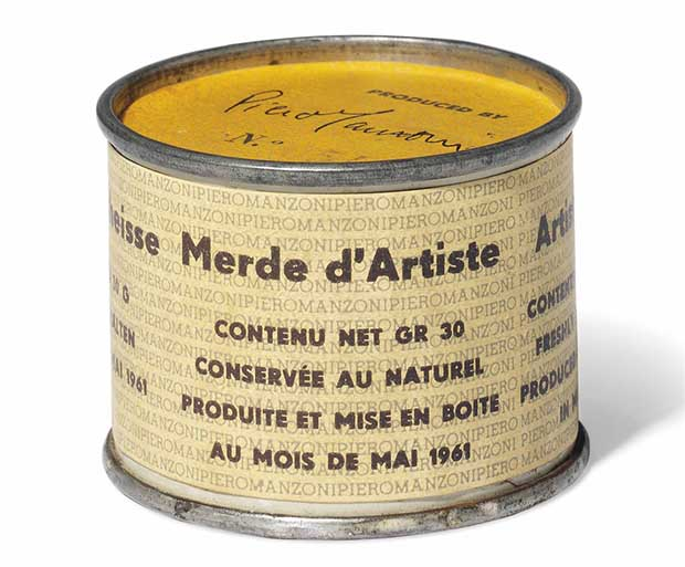 The power of Piero Manzoni and his Merda d'Artista