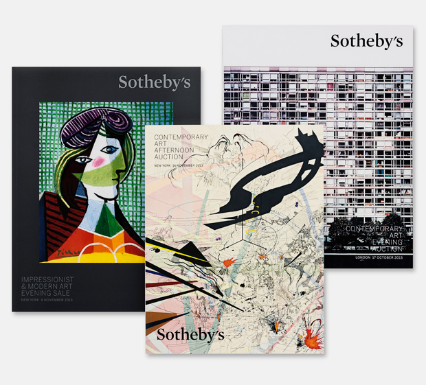 Pentagram's redesign of Sotheby's catalogues