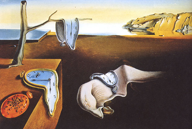 The Persistence of Memory (1931) by Salvador Dalí