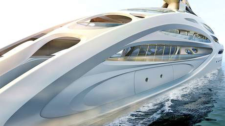 Superyacht - Zaha Hadid for Blohm+Voss