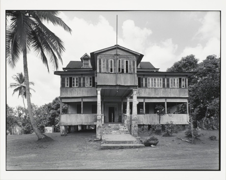 The Tyler Mansion, Liberia, (1977) by Max Belcher. Part of the Genealogies exhibition