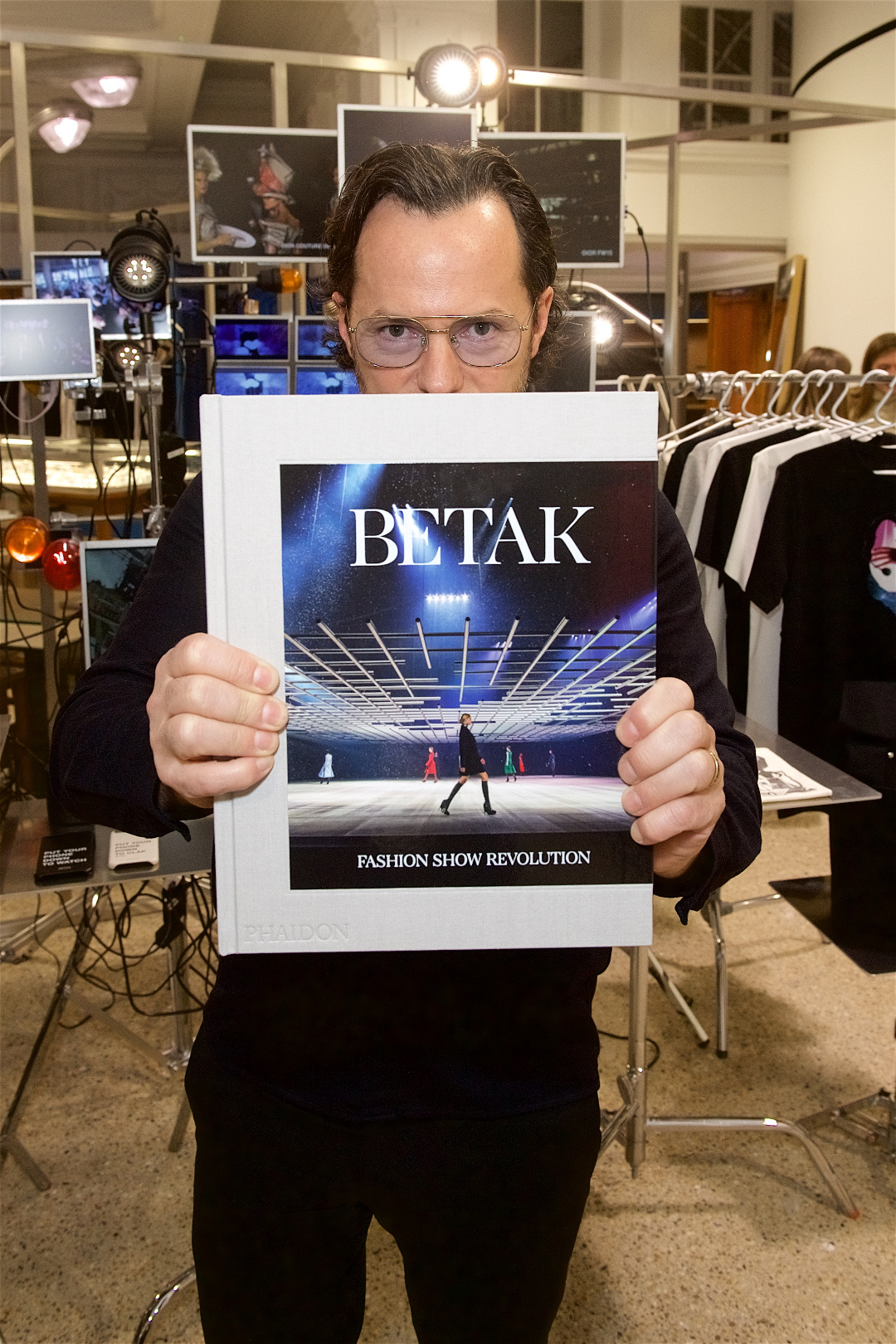 Alexandre de Betak with his new book