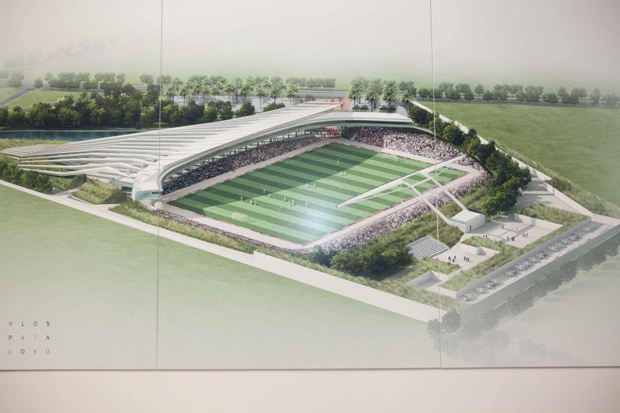 Haiti to get new stadium designed by Carlos Zapata