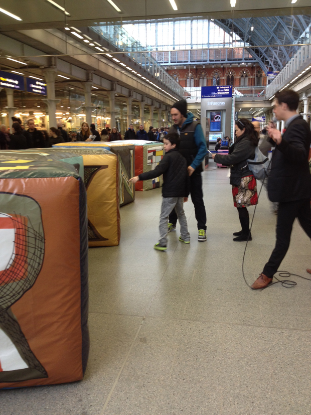 The Art Book Challenge at St Pancras