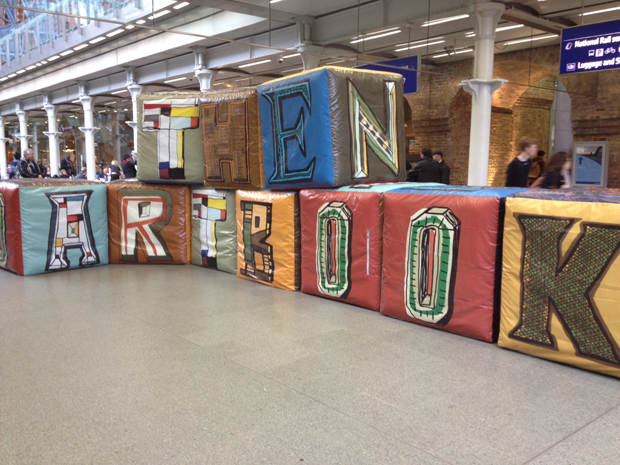 The Art Book Challenge at St Pancras on Saturday