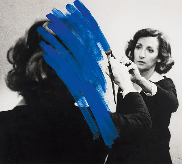 Inhabited Painting (1975) by Helen Almedia. From The Photography Book