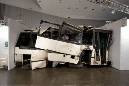 Untitled (Bus) 2008 - Piero Golia