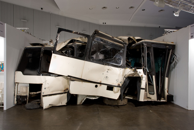 Piero Golia, Untitled (Bus) (2008)