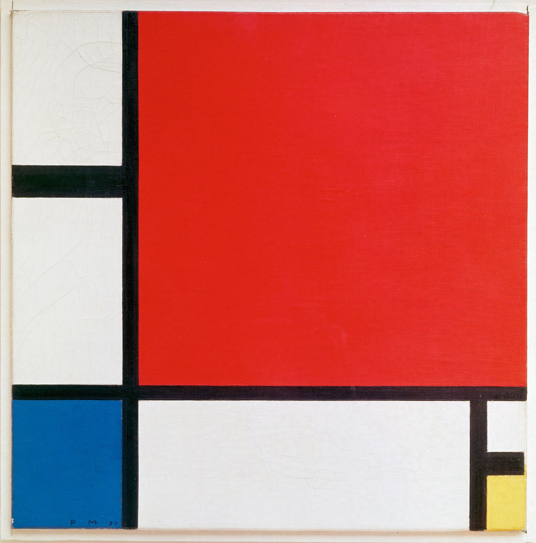 Piet Mondrian - Composition II With Red, Blue And Yellow 1930