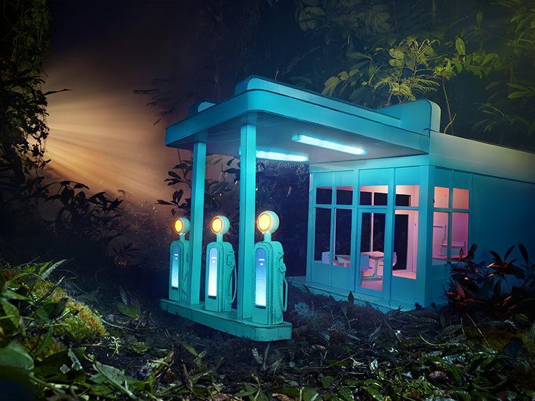 Gas 76 (2013) by David LaChapelle