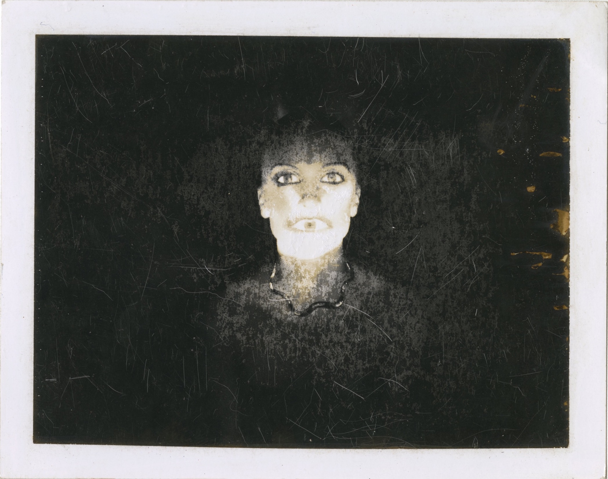 One of Guy Bourdin's Polaroids. Copyright The Guy Bourdin Estate 2018 / Courtesy of Louise Alexander Gallery