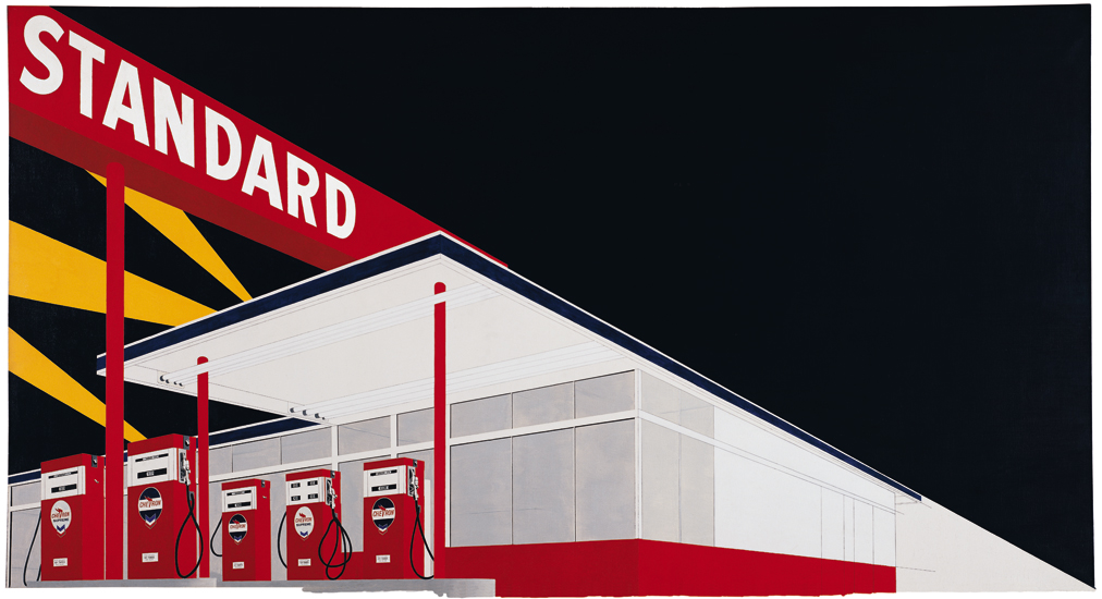 Standard Station, Amarillo, Texas (1963) by Ed Ruscha