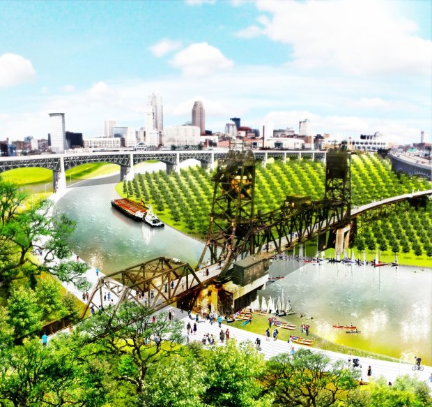 Re-Cultivating The Forest City in Cleveland, Ohio by Christopher Marcinkoski, for Port. From 30:30 Landscape Architecture