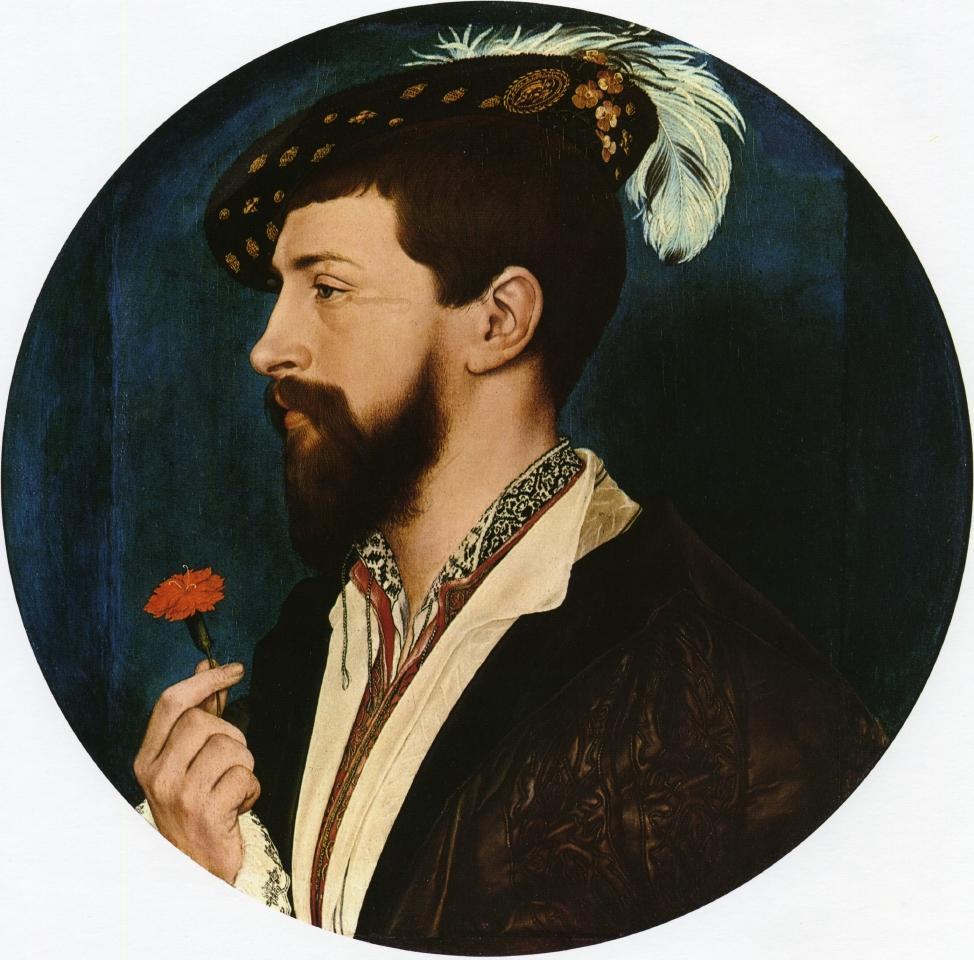Portrait of Simon George of Quocote (c. 1536) by Holbein